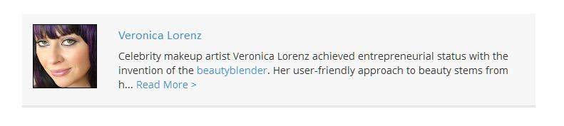Veronica for Dermstore